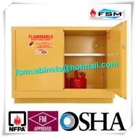 Flame Proof Hazmat Storage Cabinets Single Door For Cylinder / Paint / Chemical Manufactures