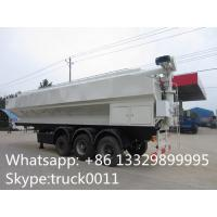 Quality factory sale CLW 3 axle 30ton feed tank trailer for farm, best price 40-50m3 for sale