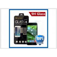 China Iphone 6 Real Glass Cell Phone Screen Protector Self Adhesive Film 0.33mm 9H on sale