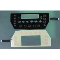 China translucent black glass or PET Capacitive Membrane Switches, capacitive touch membrane keypad on sale