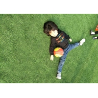 China Anti UV PE PP Football Stadium Pitch Realistic Artificial Turf on sale