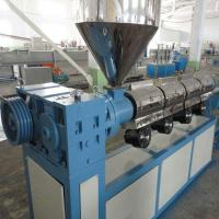 Buy cheap Single Screw Extruder PVC Profile Extrusion Line , 100kg Output PVC Extruder from wholesalers