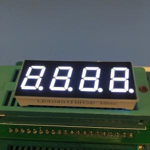 0.4 Inch Common Anode 7 Segment Display , 4 Digit 7 Segment Numeric Display Manufactures