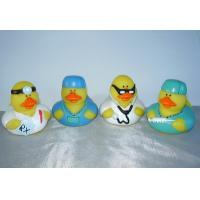 Non Phthalates Doctor Personalised Rubber Bath Ducks Toy For 3 Year Olds 16P Free Manufactures