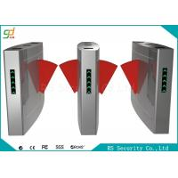 Security Access Control Flap Barrier Gate Full Automatic For Station And Airport Manufactures