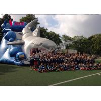 Giant Inflatable Shark Slide 8M Inflatable Sports Games Toddler Outside Toys Manufactures