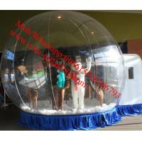 inflatable snow globe tent outdoor christmas bear snow globe Manufactures