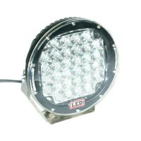 Quality 9 Inch Red 96W Led Work Lights For Trucks , CREE LED Work Lighting for sale