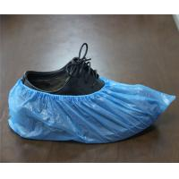 Quality waterproof disposable pe cpe shoe cover in blue or white color for sale