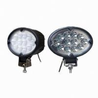 Heavy Duty 4x4 Offroad 36W Cree Led Work Light 2500lm 6500K for Vehicle Manufactures
