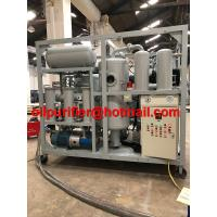 HOT! Double Stage High Vacuum Transformer Oil Purifier, Dielectric FR3 Vegetable Oil Regeneration Machine, Silicon Oil Manufactures