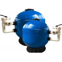 Side Mount Fiberglass Pool Sand Filter Effective For Swimming Pool Filtration Manufactures