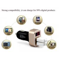 manufacture of Customized car charger quik charge rapid charge mobile phone charger Manufactures