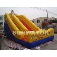 Full Digital Printed Commercial kids Inflatable Slide For Amusement Park Manufactures