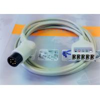 6 Leads Compatible ECG Monitor Cable , 6 Pin Ecg Cables And Leadwires Manufactures