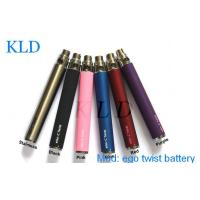 China Pen Style 650mah Variable Voltage E Cig Battery , EGO CE4 CE5 cigarette battery on sale