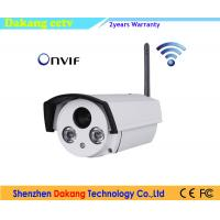 China IP Bullet Wireless Home Security Camera With Night Vision Dual Stream on sale