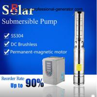 China Solar Powered Submersible Deep Well Water Pumps on sale