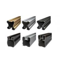 Extruded Profile Bronze Powder Coating , Adhesive Aluminium Powder Coated Manufactures
