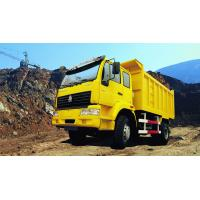 Sino truck SWZ 4X2 Heavy Duty Dump Truck No Sleeper T model Howo Dumpper  Yellow White color Manufactures