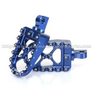 Teeth Replaceable Harley Davidson Footpegs CNC Billet 7075 Aluminum Foot Pegs Manufactures