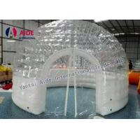 Quality Inflatable Double Layer Transparent Bubble Inflatable Pvc Dome Tent Bubble Room for sale