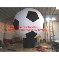 inflatable soccer above ground balloon for world cup Manufactures