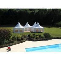 German High Peak Party Canopy Tent , 5x5M Small Tents For Outside Events Manufactures