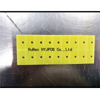 FR4 Single Sided PCB  94V-0 PCB KB SY 1oz Copper Thickness Green Solder Mask Manufactures