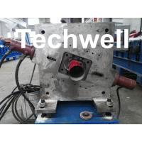 Round Downspout Machine with Hydraulic Cutting / Downspout Roll Forming Machine Manufactures