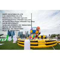 Gigantic art zoo inflatable amusement park , customized inflatable bouncer toys Manufactures