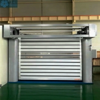 Workshop 0.8m/S 4m Wide High Speed Rolling Doors Manufactures