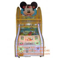 Game Center Coin Operated Kids Game Machine Arcade Mickey Basketball For Sale Manufactures