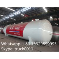 Quality factory sale 120,000L 50ton lpg gas storage propane tank, hot sale bullet type bulk surface lpg gas storage tank for sale