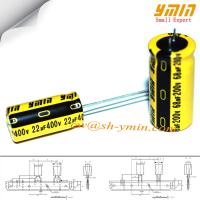 Buy cheap 22uF 400V 12.5x20mm GP Series 105°C 4,000 ~ 6,000 Hours Radial Aluminum Electrolytic Capacitor for Multi USB Plug Socket from wholesalers