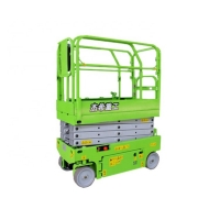 Max.Lifting 13ft 4m electric small Scissor Lift with load capacity 240kg Manufactures