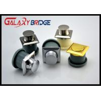 Zinc Round Concealed Cabinet Handles Spring Skip Bottom Pulls Gold Bounced Bottom Knob Manufactures