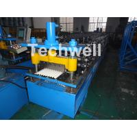 Corrugated Profile Roof Roll Forming Machine For Making The Corrugated Sheets