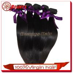 Beamyshair grade 7a virgin hair wholesale hair weave distributors , cheap virgin brazilian human hair sew in weave Manufactures