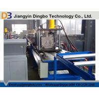 China Automatic Hydraulic Decoiler Storage Rack Roll Forming Machine With Gear Box on sale