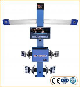 2 High Defination Industrial Cameras T258 3D Car Wheel Aligner Manufactures