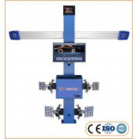 High Efficiency 4 Wheel Alignment Machine 2 Cameras 3D With 11''-24'' Wheel Rim Manufactures