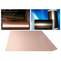 ROHS Single Side FCCL Copper Clad Laminate with 0.5 ~ 2.0mils thickness PI Film Mil Modified Epoxy Adhesive Manufactures