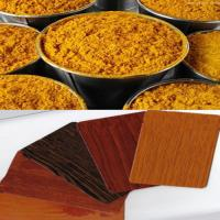 Thermal Transfer Color Powder Coatings With Wood Sand Texture Manufactures