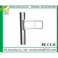 Intelligent 2mm Thick Security Swing Barrier Gate For Supermarket Access Control Manufactures