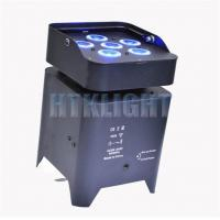 China IP20 Battery Powered Wireless Dmx Led Lights 5in1 For Party / Wedding on sale