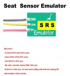 SRS6 Mercedes Seat Sensor Emulator , Car Repair Troubleshooting for Mercedes Benz Manufactures