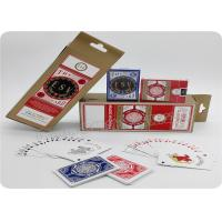 Baccarat Blackjack Casino Quality Playing Cards 2.5 X 3.5 Inch Bridge Size Manufactures