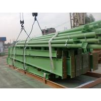 Garage Steel Frame / Nigeria Steel Structure Factory  / Green Oxide Paint Manufactures