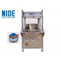Single Flyer Automatic Coil Winding Machine 2 Stations For Fan Motor Manufactures